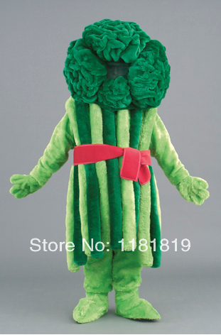 MASCOT Bundles Broccoli mascot costume custom fancy costume anime cosplay kits mascotte fancy dress carnival costume