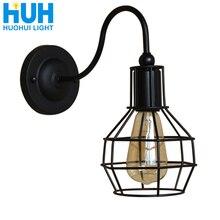 Винтажный настенный светильник для склада, лофт, Американская страна, ретро индустрия, винтажные железные маленькие настенные лампы, винтажные декоративные настенные светильники