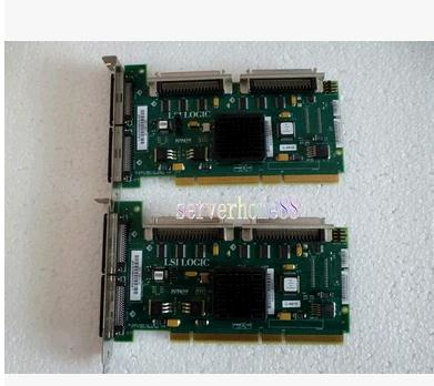 цена 1PCS Minicomputer 320M dual channel SCSI card LSI22320BCS-HP A6961-60011