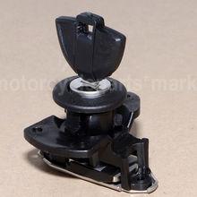 Черные мотоциклетные задние ПАССАЖИРСКОЕ СИДЕНЬЕ фиксирующий кронштейн W/ключ для BMW S1000RR S1000 RR S 1000 RR 2009- 2013 2012 2011 2010