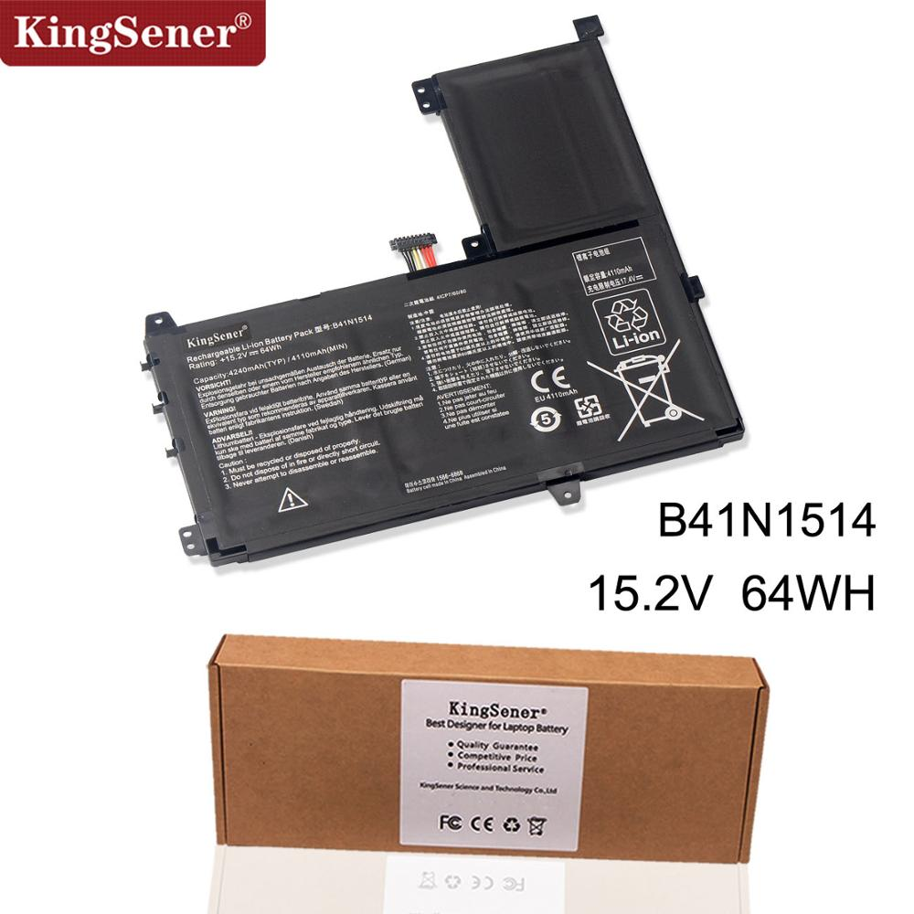Kingsener B41N1514 Laptop battery for ASUS N543UA N543UA-1A Q503UA Q503UA-BHI5T16 Q503UA-BSI5T17 15.2V 64WH