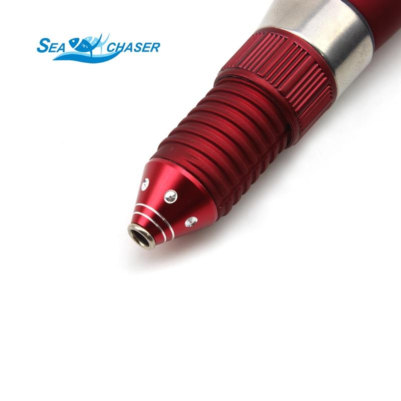 Visoka kvaliteta crvena MINI led ribolov štap ugljika štap 47cm - Ribarstvo - Foto 5