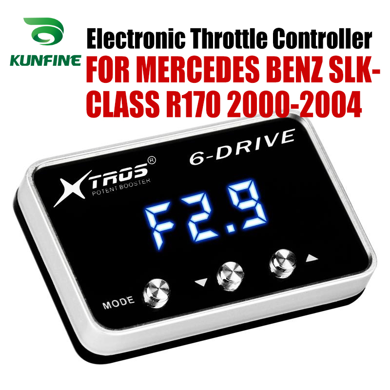 Car Electronic Throttle Controller Racing Accelerator Potent Booster For MERCEDES BENZ SLK-CLASS R170 2000-2004 Tuning Parts Car Electronic Throttle Controller Racing Accelerator Potent Booster For MERCEDES BENZ SLK-CLASS R170 2000-2004 Tuning Parts
