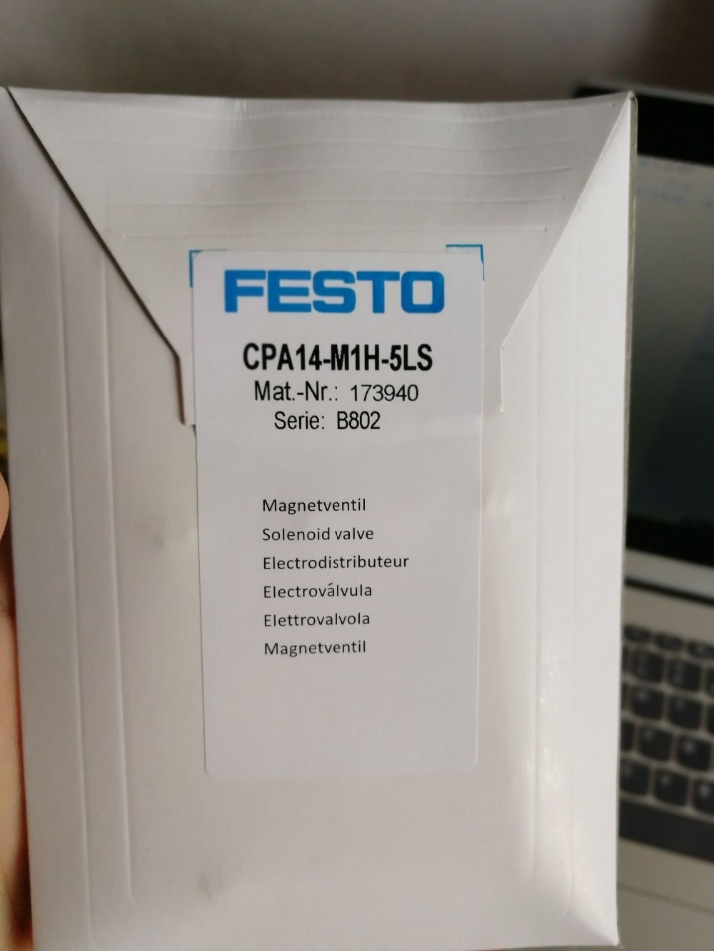 Free shipping 100 new high quality FESTO original authentic battery valve CPA14 M1H 5LS order number