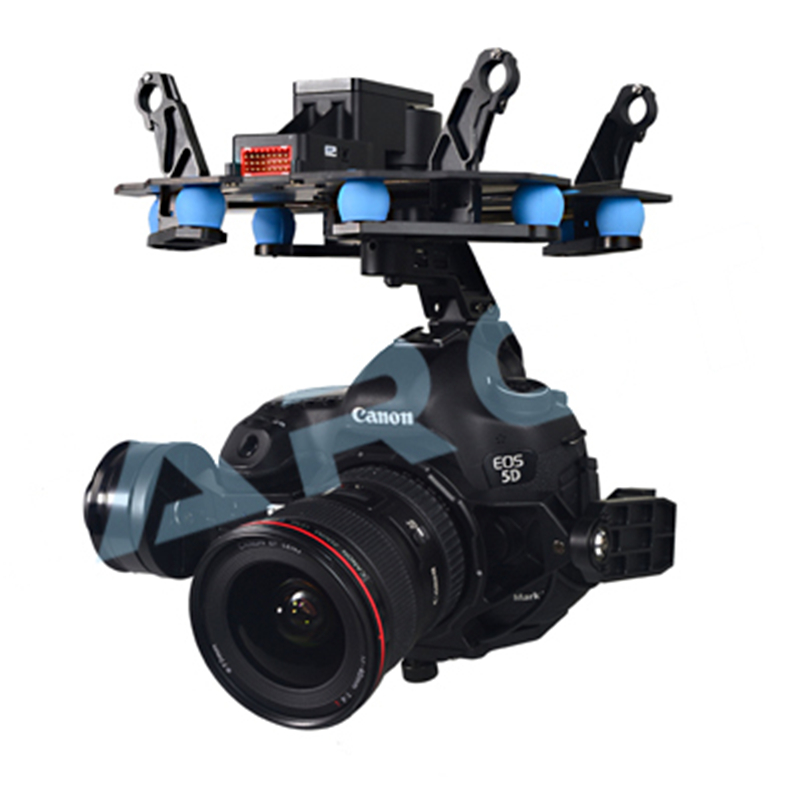 Tarot TL5D001 503 3 Axe Stabilisation Cardan L'intégration Conception pour Multicopter FPV 5D Mark III DSLR Caméra syz 50% OFF