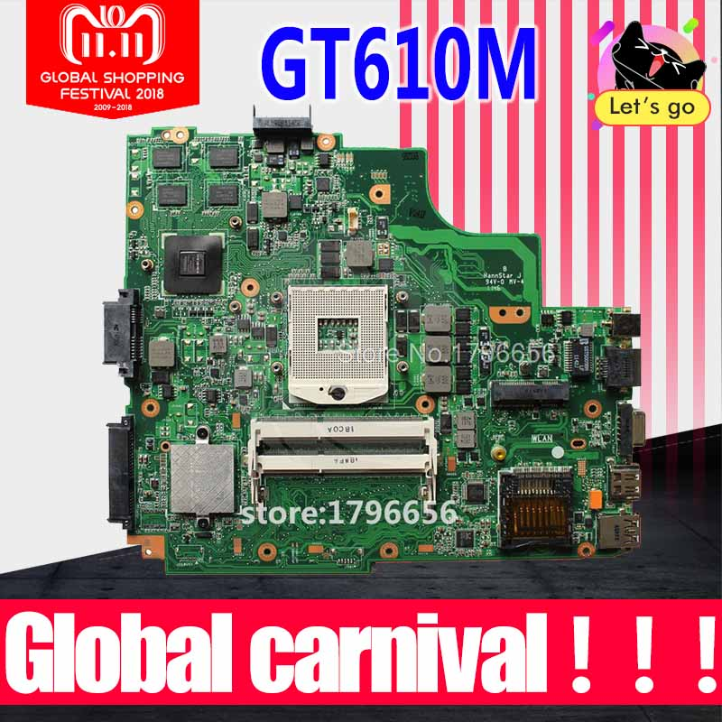 K43SD Motherboard GT610M-REV:4.1 For ASUS A43S X43S K43S K43SD A84S laptop Motherboard K43SD Mainboard K43SD Motherboard used for asus k43sv k43s k43sj a43s a84s x43s k43sm laptop motherboard rev 4 1 usb3 0 gt540m 2gb mainboard fully tested