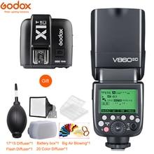 цена Godox V860II-S V860II-C 860II-N V860II-F V860II-O TTL HSS Li-ion Battery Flash + X1T Trigger for Sony Nikon Canon Olympus Fuji онлайн в 2017 году