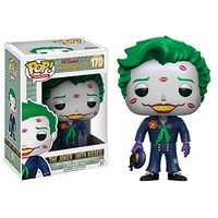 Exclusive Funko pop Official DC Heroes Bombshells The Joker (With Kisses) #170 Vinyl Action Figure Collectible Model Toy