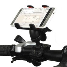 Universal Bike Bicycle Mobile Phone Mount Bracket Holder Stand for iPhone 5S 6 6S 7 8