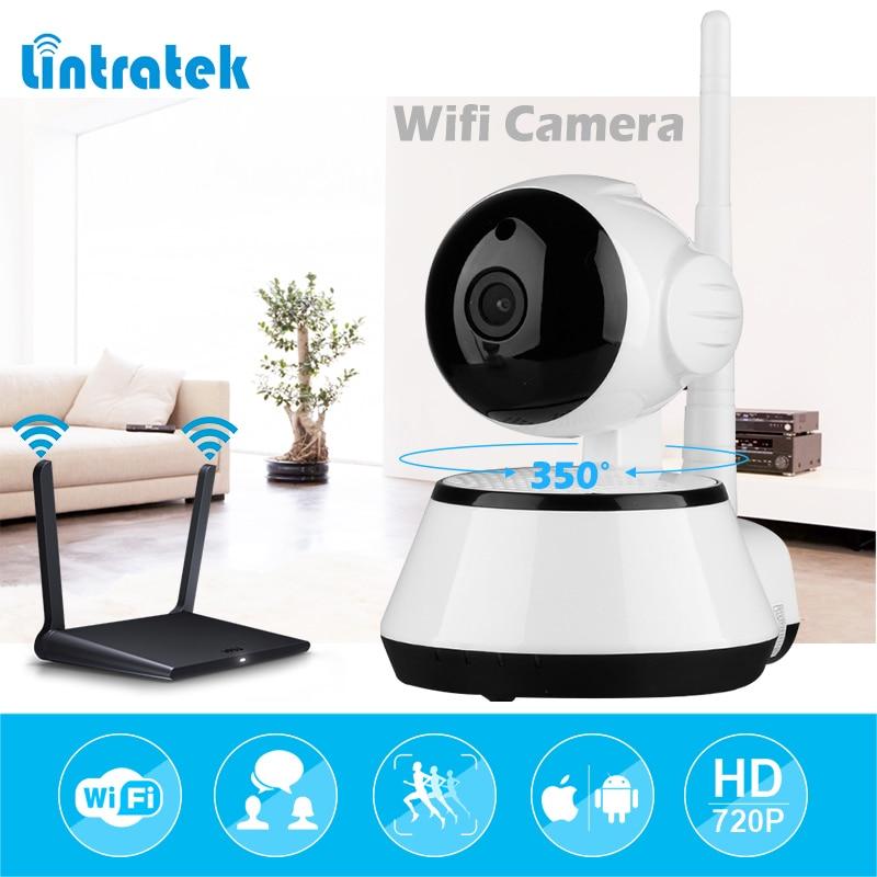 lintratek Surveillance Video Camera mini IP Camera wifi hd 720P wifi Security wireless Camera infrared Night Vision Baby Monitor