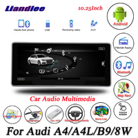 Liandlee For Audi A4 / A4L B9 8W Android Original System Radio Carplay GPS Navi Navigation HD Screen Multimedia No CD DVD Player