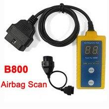 Новейшая модель; воздушная подушка SRS Reset сканер B800 коннектор для прибора бортовой диагностики автомобиля подушка безопасности автомобиля электронные инструменты для ремонта Прямая LR10