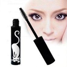 ASIA Fashion Beauty Brand Makeup Mascara Charming Cat Waterproof Mascara Eyes Cosmetics Black Color W1