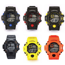 Men's Quartz Digital Sports Watches LED Military Silicone Waterproof Wristwatche Fashion design wearing comfortable M21