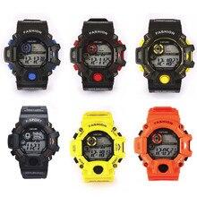 Men's Quartz Digital Sports Watches LED Military Silicone Waterproof Wristwatche Fashion design wearing comfortable M21