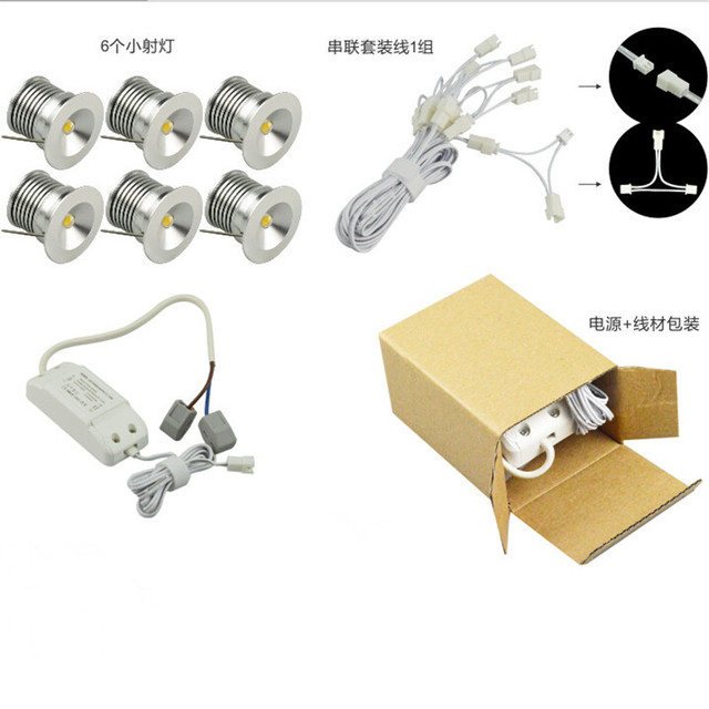 12pcslot led buried light outdoor mini dimmable led downlight led 12pcslot led buried light outdoor mini dimmable led downlight led puck light 3w aloadofball Choice Image