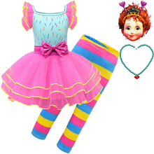 2019 new fancy nancy beautiful Nancy cosplay children's performance clothing suit girls Halloween costumes fancy nancy nancy clancy seeks a fortune