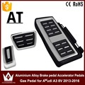 Night Lord Left driving position Car Pedals Aluminium alloy Brake pedal Accelerator Pedals Gas Pedal for Audi A3 8V 2013-2016