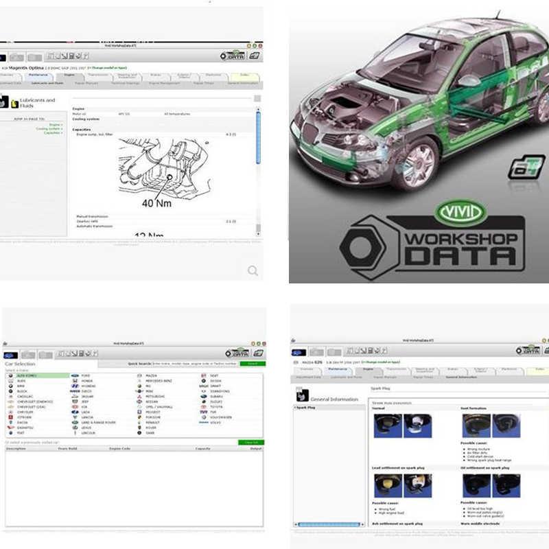最新バージョンvividワークショップデータv10.2 2010 修理ソフトウェアに更新コレクション自動車修理ソフトウェア必要はありませんアクティブ