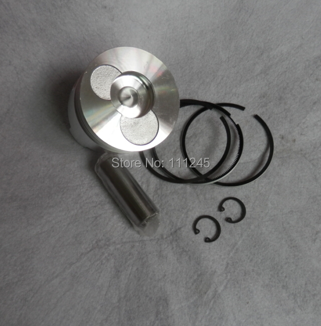 PISTON KIT 78MM  FOR CHINESE 178F DIELSE CYLINDER BLOCK  KOLBEN W/ RING CLIP PIN TILLER KAMA  KIPOR PARTS 38mm cylinder barrel piston kit