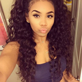 Front Lace Wigs 8A Lace Front Human Hair Wigs 130% Density Brazilian Deep Curly WaveFull Lace Human Hair Wigs For Black Women