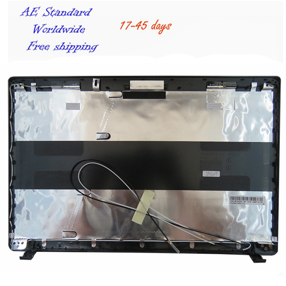 Laptop Top LCD Back Cover For ASUS K55V X55 K55VD A55V A55VD K55 K55VM R500V A Case Black laptop shell for asus k55 k55v k55vd a55v k55a x55 u57a x55a top lcd back cover black gray a case