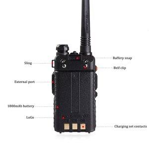 Image 3 - Walkie Talkie Baofeng UV 5R Radio Station 128CH VHF UHF Zwei weg Radio cb Tragbare baofeng uv 5r Radio Für jagd uv5r