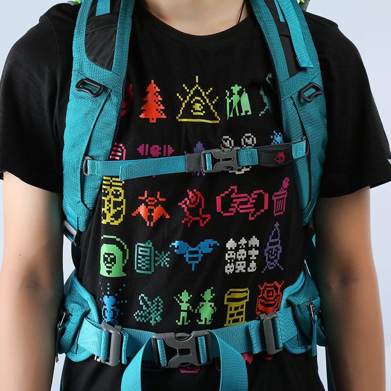 Sac à dos extérieur de haute qualité 65L randonnée sac à dos Molle sacs pour voyage touristique montagne Camping sacs à dos sac - 5