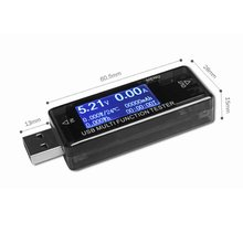 Digital Display 4 V-30 V Mini Current Voltage Charge Capacity Test USB Doctor QC2.0 Quick Charge Power Bank Meter