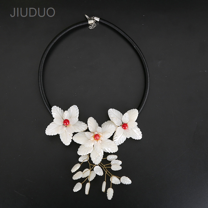 Fashion stone Necklace shell Necklace for Women Fashion Popular Jewelry design factory direct special package mail menghai brick tea pu er 250 grams of carton packaging special package mail s665
