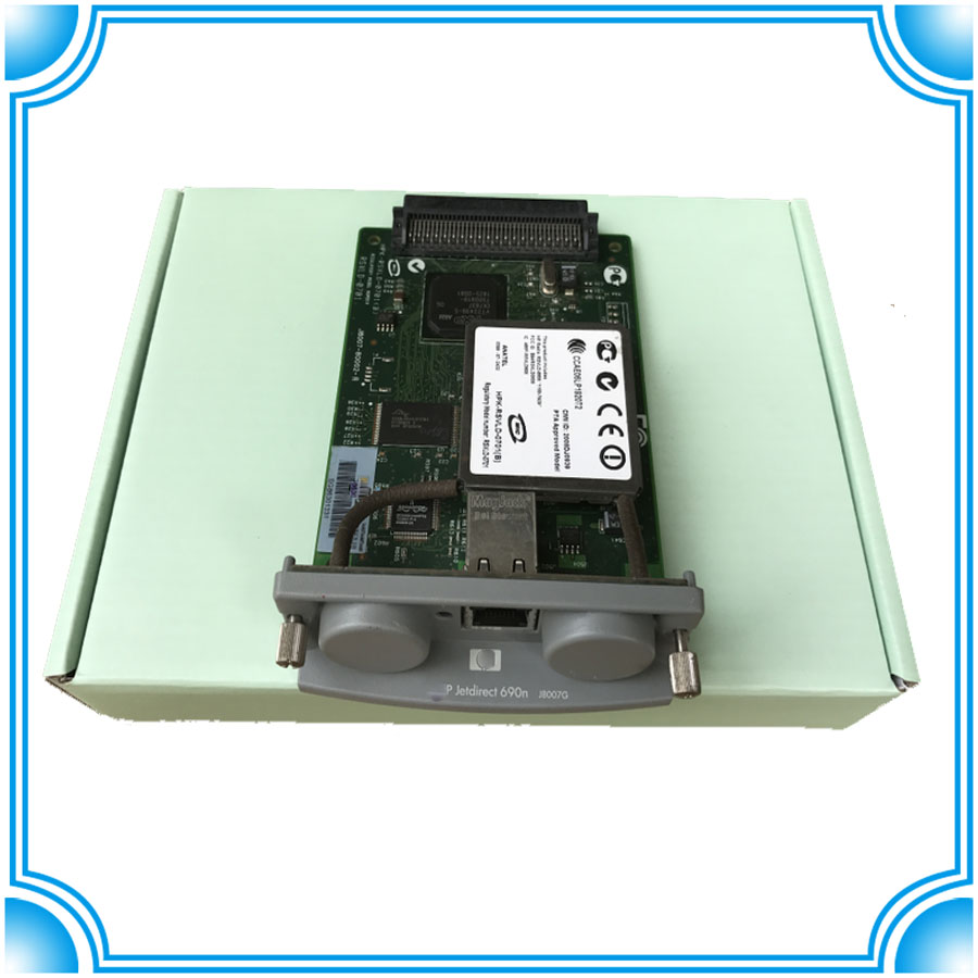 Used - JetDirect 690N network card J8007-61001 J8007-61005 J8007-69001 J8007-69005 J8007-69004Used - JetDirect 690N network card J8007-61001 J8007-61005 J8007-69001 J8007-69005 J8007-69004
