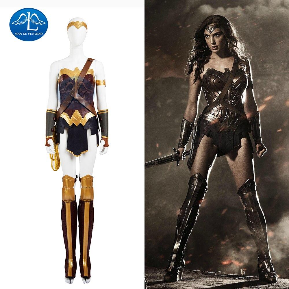 Wonder Woman Kostuum Diana Princess Cosplay Kostuum Dames Superheld - Carnavalskostuums