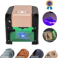 smartlife Engraver, 3000MW Laser Engraving Machine Mini Desktop Laser Engraver Machine DIY Logo Laser Engraver Printer
