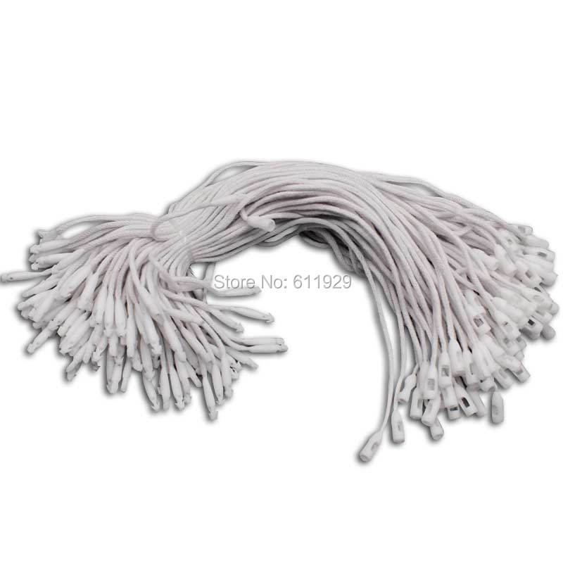 1000pcs White Nylon plastic cable ties Clothing sling rope label line