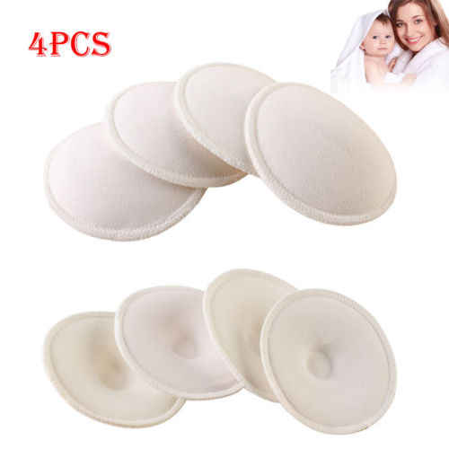 Feeding Washable Reusable Breast Nursing Pads Cotton Soft Comfortable Absorbent Baby Breastfeeding Breast Pads