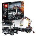 En stock 20005 2793 unids NUEVA serie técnica 42023 Arocs LEPIN Modelo de Bloques de Construcción Ladrillos Compatible con Niños de Juguete de Regalo