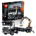 In stock 20005 2793pcs NEW LEPIN technic series 42023 Arocs Model Building Block Bricks Compatible with  Boys Toy Gift