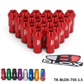 AUTOFAB - BLOX Racing Forged 7075 Aluminum Lug Nuts P 1.5 L:50mm (20Pcs/Set) TK-BLOX-750-1.5