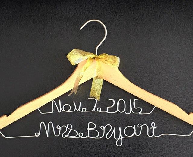Personalisierte Hochzeit Aufhänger mit Name Datum Benutzerdefinierte ...