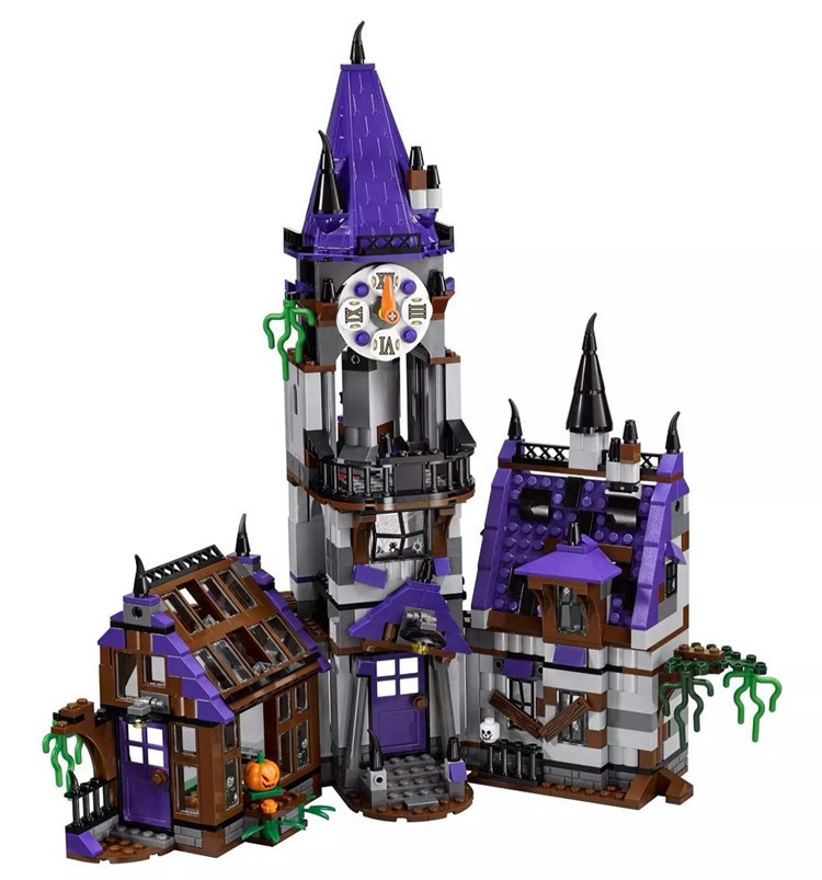 Image 2 - IN STOCK 10432 Scooby Doo Mysterious Ghost House 860pcs Building Block Toys Compatible 75904 Blocks For Children gift-in Blocks from Toys & Hobbies