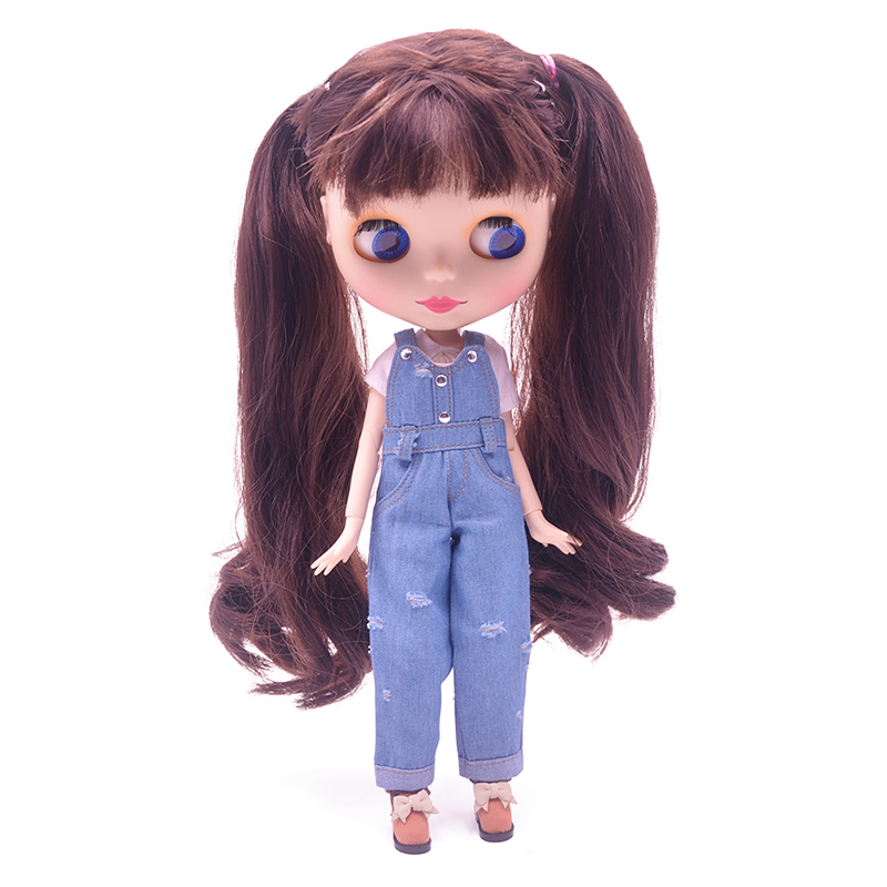 все цены на Blyth Doll BJD, Factory Neo Blyth Doll Nude Customized Matte Face Dolls Can Changed Makeup Dress DIY, 1/6 Ball Jointed Dolls 06 онлайн