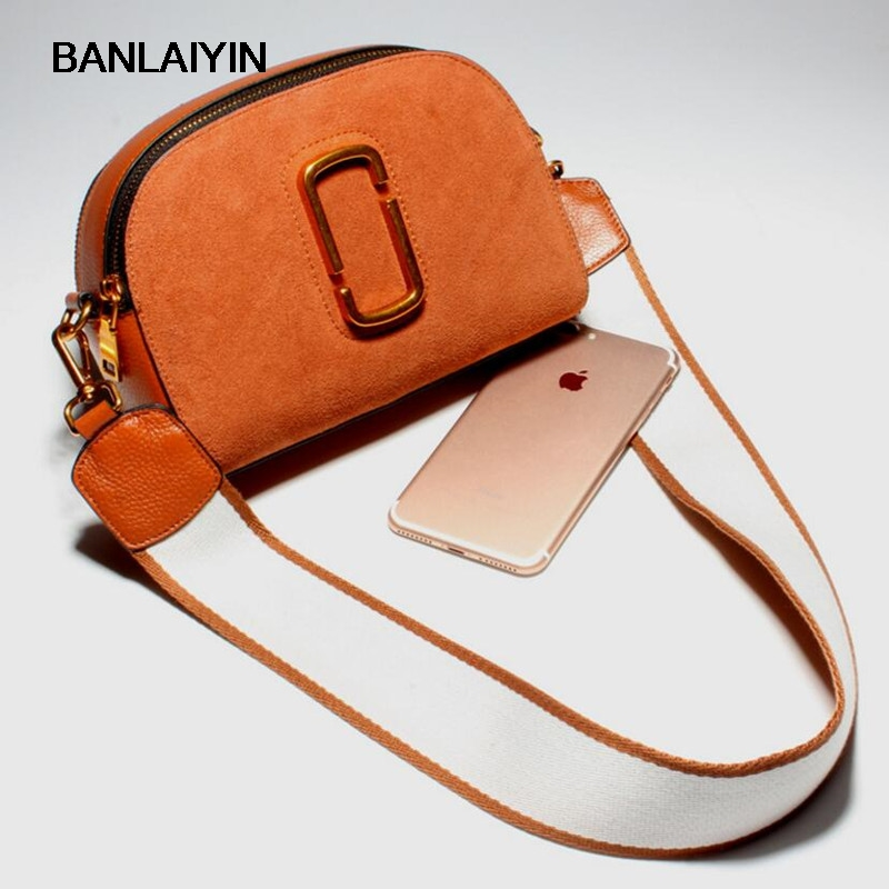 Fashion Crossbody Bag Zipper Matte Genuine Leather Women Messenger Bags High Quality Shoulder Bag For Women Gift Retro Mini Bag fashion matte retro women bags cow split leather bags women shoulder bag chain messenger bags