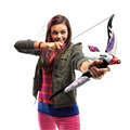 Baby Toys Nerf Gun Girl Nerf Elite Rebelle Fire Arrow Longshot Bow And Arrow Ammo Toy Gift For Children Kid Play Outdoor