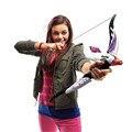 Brinquedos do bebê Arma Nerf Rebelle Nerf Elite Da Menina Flecha de Fogo Longshot arco E Flecha Ammo Toy Presente Para Crianças Kid Jogo Ao Ar Livre