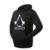 Altura 95-185 CM de La Novedad 3D Print Shirt niños Luminoso Con Capucha Otoño Invierno Boy Tops Ropa Ligera Superman spiderman