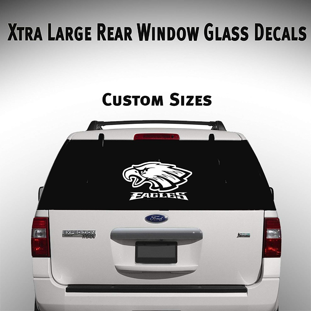Personalised Vehicle Rear Window Stickers-Car,Van,Truck-Promotional or Fun Signs