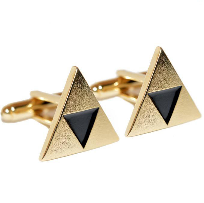 Legend of Zelda Cufflinks zelda cufflinks Triforce cufflinks zelda jewelry zelda accessory Mens Jewelry