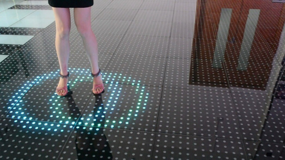 New Design Smart Induction Dance Floor Led Rgb Stage Light