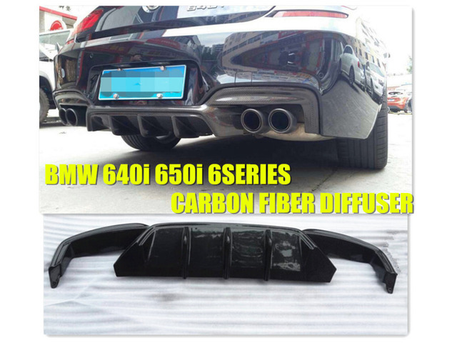 Aliexpresscom  Buy 2011 2014 CARBON FIBER REAR DIFFUSER FOR BMW