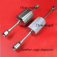 Orthopedics instrument spinal system use ram hammer lubar cage impactor orthopedist use instrument18cm/23cm